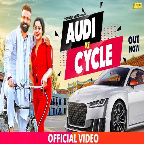 Audi Vs Cycle By Nitin Rohilla