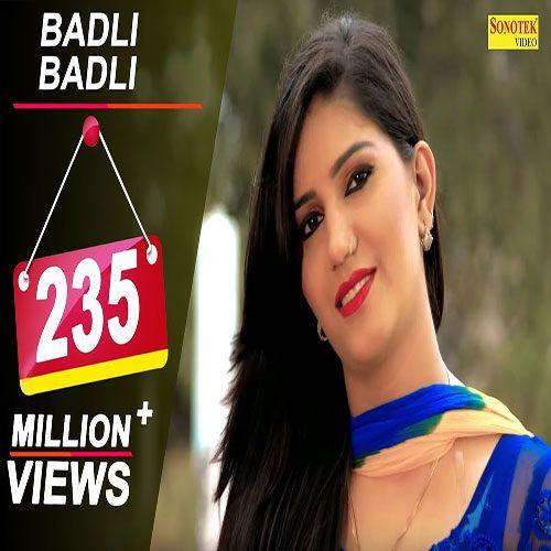 Badli Badli Laage By Sapna Chaudhary