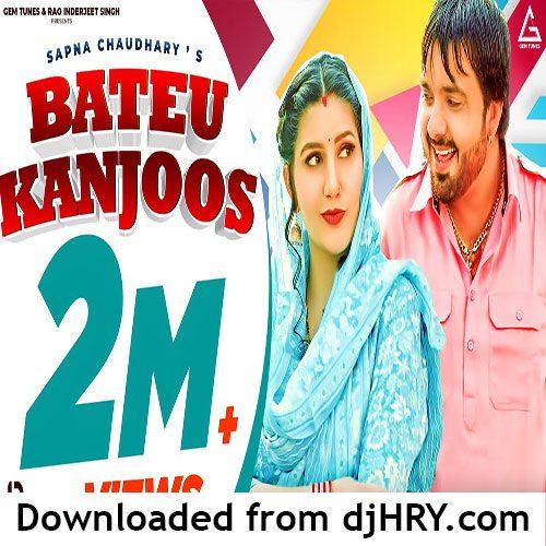 Bateu Kanjoos By Surender Romio ft. Sapna Choudhary